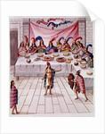 A Banquet by Diego Garcia Panes y Avellan