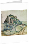 View of the Arco Valley in the Tyrol by Albrecht Dürer or Duerer
