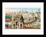 The Royal Entry Festival of Henri II into Rouen by French School