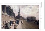 The National Gallery, London by Giuseppe or Joseph de Nittis