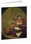 The Monkey Antiquarian by Jean-Baptiste Simeon Chardin