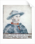 Portrait of Rene I Duke of Anjou by Thierry Bellange