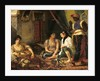 The Women of Algiers in their Apartment by Ferdinand Victor Eugene Delacroix