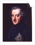 Frederick II the Great by Johann Georg Ziesenis
