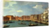 View of the Canal of Santa Chiara, Venice by Canaletto