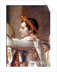 The Consecration of the Emperor Napoleon and the Coronation of the Empress Josephine by Pope Pius VII by Jacques Louis David