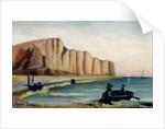 Cliffs by Henri J.F. Rousseau