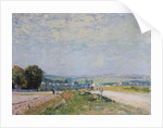 The Road to Montbuisson at Louveciennes by Alfred Sisley