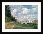 The Marina at Argenteuil by Claude Monet