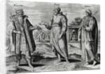 Manasseh Amon and Josiah by Dutch School
