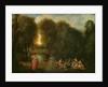 A Meeting in a Park by Jean Antoine Watteau