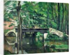 The Bridge at Maincy, or The Bridge at Mennecy, or The Little Bridge by Paul Cezanne