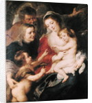 The Holy Family with St. Elizabeth and the Infant St. John the Baptist by Peter Paul Rubens
