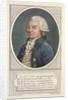 Jerome Petion de Villeneuve by Jean Baptiste Verite