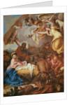 Adoration of the Shepherds by Giovanni Benedetto Castiglione