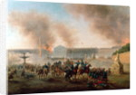 Battle in the Place de la Concorde by Gustave Clarence Rodolphe Boulanger