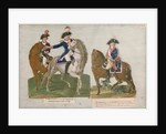 Army Commander and an Officer of the Mounted Police by Lesueur Brothers
