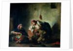 Jewish Musicians in Mogador by Ferdinand Victor Eugene Delacroix