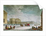 View of the Imperial Bank and the Shops at St. Petersburg by Mornay