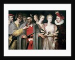 Actors of the Commedia dell'Arte by Francois Bunel