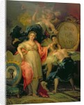 Allegory of the City of Madrid by Francisco Jose de Goya y Lucientes