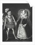 Portrait of Mary Queen of Scots and Henry Stewart, Lord Darnley by English School