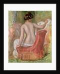 Nude in an Armchair by Pierre Auguste Renoir