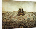 Federal Camp at Lyon by French School