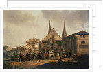 Pillage of a Church during the Revolution by Jacques Francois Joseph Swebach