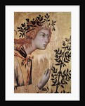 The Annunciation with St. Margaret and St. Asano by Simone Martini