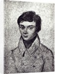 Portrait of Evariste Galois by French School