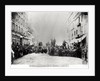 Barricade in the Rue de Flandre, during the Commune of Paris by French Photographer