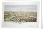 View of Paris from Bois de Boulogne, during the Universal Exhibition in 1867 by Hilaire Guesnu