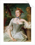 Madame de Pompadour by Francois-Hubert Drouais