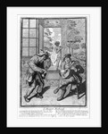 Harlequin and Scaramouche by French School