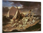 Second study for the Raft of the Medusa by Theodore Gericault