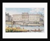 View of the Hotel des Monnaies at the Confluence of the Two Branches of the Seine by Victor Jean Nicolle