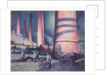 Factory Chimneys by Maximilien Luce