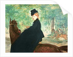 The Horsewoman by Edouard Manet
