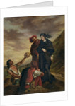 Hamlet and Horatio in the Cemetery by Ferdinand Victor Eugene Delacroix