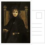 Portrait of Madame Georges Bizet by Jules Elie Delaunay