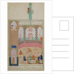 Ms D-212 Interior of a Madrasa by Persian School