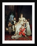 Caroline Bonaparte and her Children by Francois Pascal Simon