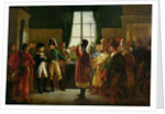 Alexander I Presenting the Kalmuks, Cossacks and Bashkirs to Napoleon I at Tilsit in July 1807 by Pierre-Nolasque Bergeret