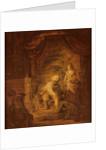 Biblical Scene by Rembrandt Harmensz. van Rijn