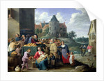 The Seven Acts of Mercy by David the Younger Teniers