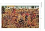 Battle between Darius and Alexander the Great by Italian School