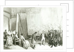 Napoleon I Visiting the Studio of David by Emile Lassalle