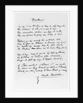 """Recueillement', signed sonnet by Charles Pierre Baudelaire"