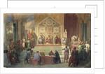St. Louis King of France Receiving Robert Patriarch of Jerusalem, in Damietta in 1249 by Oscar Gue